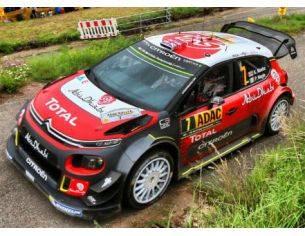 Spark Model S5176 CITROEN C3 WRC N.7 2nd RALLY GERMANY 2017 A.MIKKELSEN-A.JAGER 1:43 Modellino