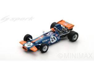 Spark Model S5268 BRABHAM BT33 1971 N.24 DNF US GP CHRIS CRAFT 1:43 Modellino