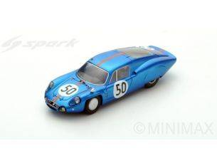 Spark Model S5486 ALPINE M64 N.50 32th LM 1965 P.VIDAL-P.REVSON 1:43 Modellino