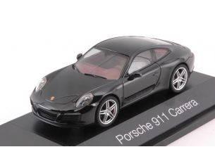 Herpa HP7100 PORSCHE 911 CARRERA S COUPE'  991 II BLACK 1:43 Modellino