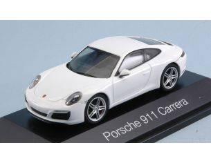 Herpa HP7101 PORSCHE 911 CARRERA S COUPE'  991 II WHITE 1:43 Modellino