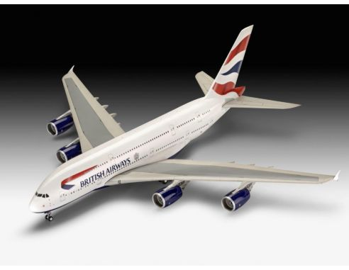 Revell RV03922 A380-800 EMIRATES KIT 1:144 Modellino
