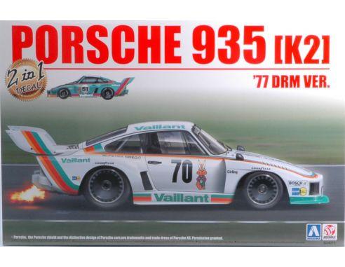 Brumm BMX24015 PORSCHE 935 K2 DOUBLE VERSION NURBURGR.N.16 OR NURNBERG N.70  KIT 1:24 Modellino