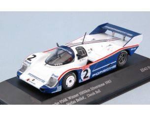 Spark Model SBC003 PORSCHE 956 K N.2 WINNER 100 KM SILVERSTONE 1983 S.BELLOF-D.BELL 1:43 Modellino