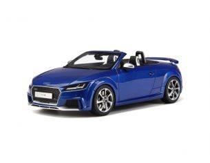 Ixo model GT209 AUDI TT RS ROADSTER SEPANG BLUE 1:18 Modellino