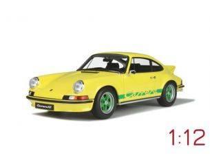 Ixo model GT733 PORSCHE 911 2.7 RS TOURING LIGHT YELLOW 1:12 Modellino