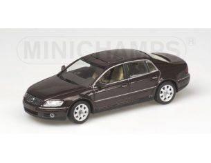 Minichamps 400051001 VW PHAETON 2002 MELANZANA  1/43 Modellino