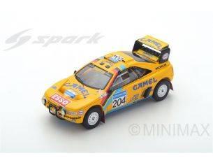 Spark Model S5625 PEUGEOT 405 T16 N.204 2nd PARIS-DAKAR 1990 B.WALDEGARD-J.C.FENOUIL 1:43 Modellino