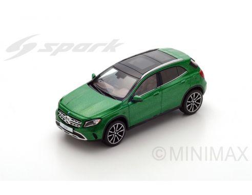Spark Model SDC026 MERCEDES GLA 250 2017 GREEN 1:43 Modellino