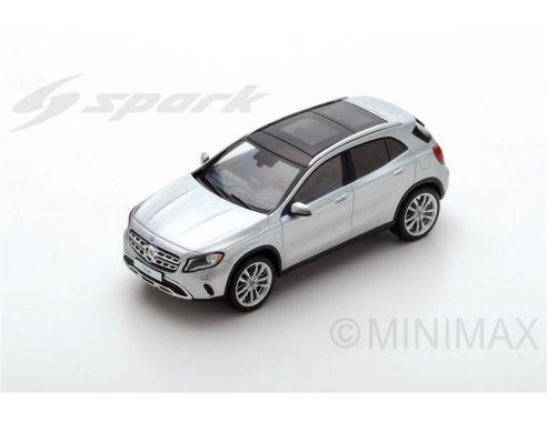 Spark Model SDC027 MERCEDES GLA 250 2017 SILVER 1:43 Modellino
