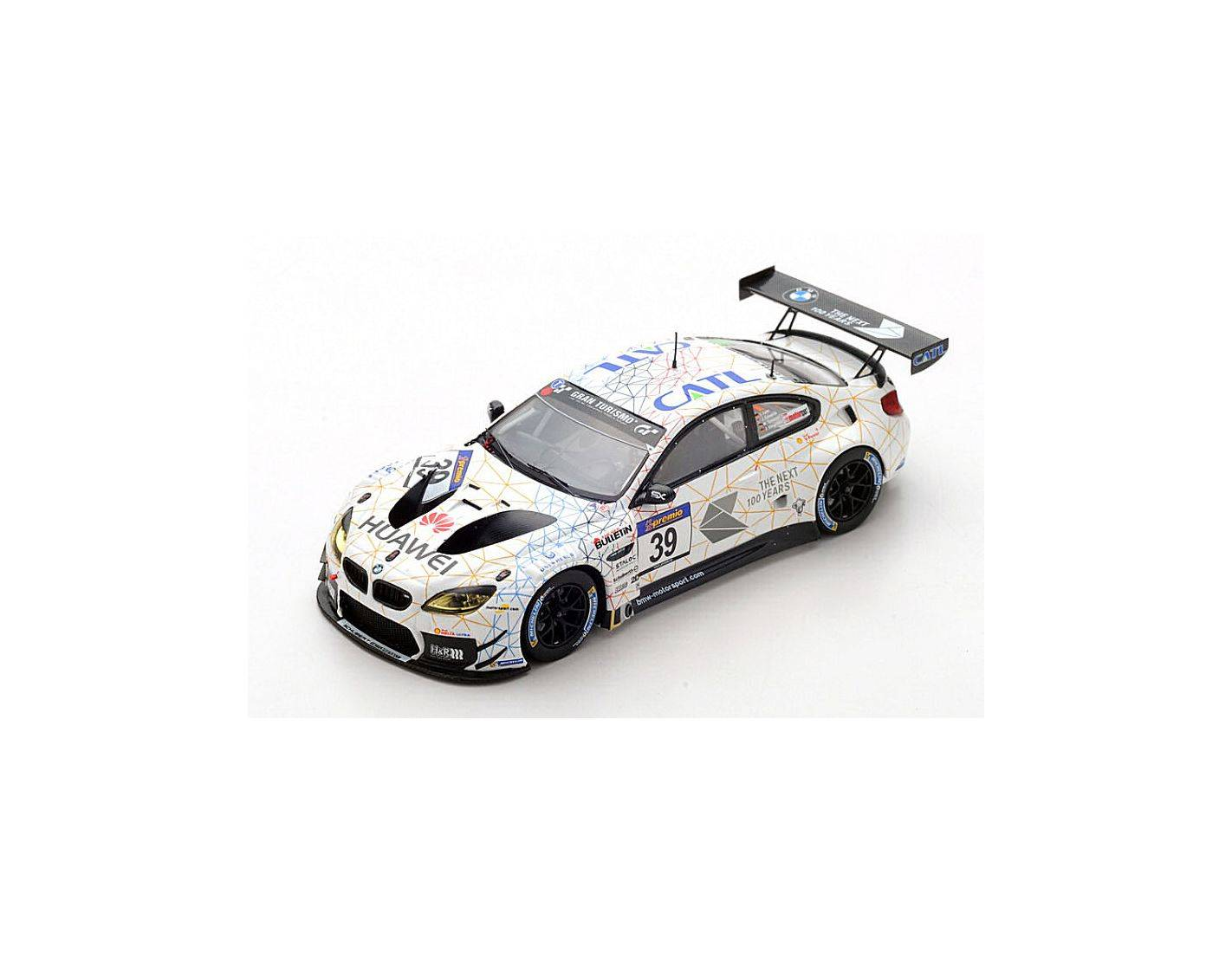 Spark Model SG371 BMW M6 N.39 2nd VLN 2016 ROUND 3 L.LUHR-M.TOMCZYK-J.EDWARDS 1:43 Modellino