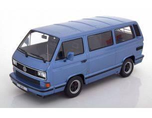 KK Scale KKDC180222 PORSCHE B32 BASED ON VW T3 1984 LIGHT BLUE METALLIC 1:18 Modellino