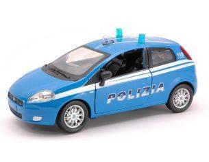 New Ray NY71113 FIAT GRANDE PUNTO POLIZIA 1:24 Modellino