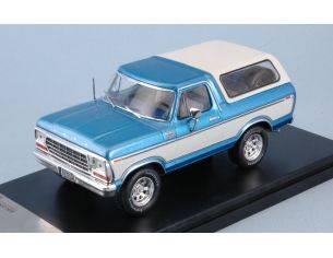 PremiumX PRD045 FORD BRONCO 1978 METALLIC BLUE/WHITE 1:43 Modellino