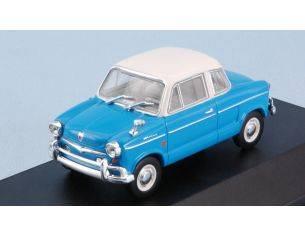White Box WB281 NSU PRINZ 30E 1959 LIGHT BLUE W/WHITE ROOF 1:43 Modellino
