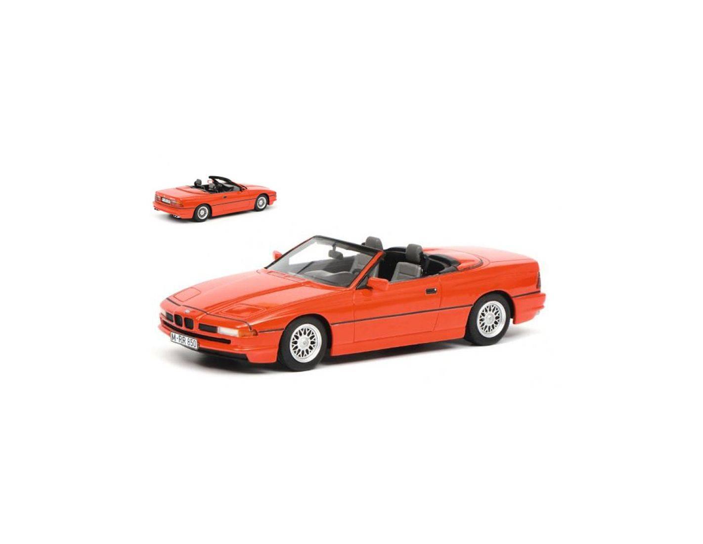Schuco SH0068 BMW 850i CABRIO rot 1 18 Modellino