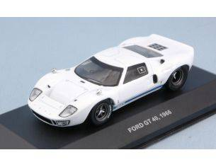Solido SL4303200 FORD GT40 1966 WHITE 1:43 Modellino