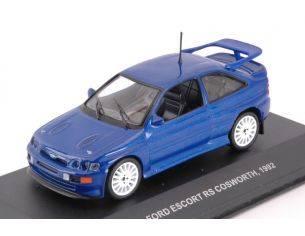 Solido SL4303700 FORD ESCORT RS COSWORTH 1992 BLUE 1:43 Modellino