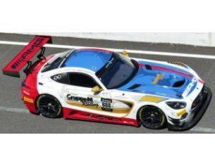 Spark Model SJ059 MERCEDES GT3 N.888 WINNER 10 H SUZUKA 2018 VAUTIER-ENGEL-MARCIELLO 1:43 Modellino