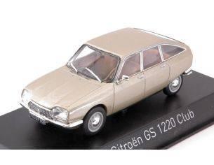 Norev NV158218 CITROEN GS 1220 CLUB 1973 THOLONET BEIGE METALLIC 1:43 Modellino