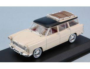 Norev NV574055 SIMCA VEDETTE MARLY 1957 PAILLE YELLOW & BLACK 1:43 Modellino