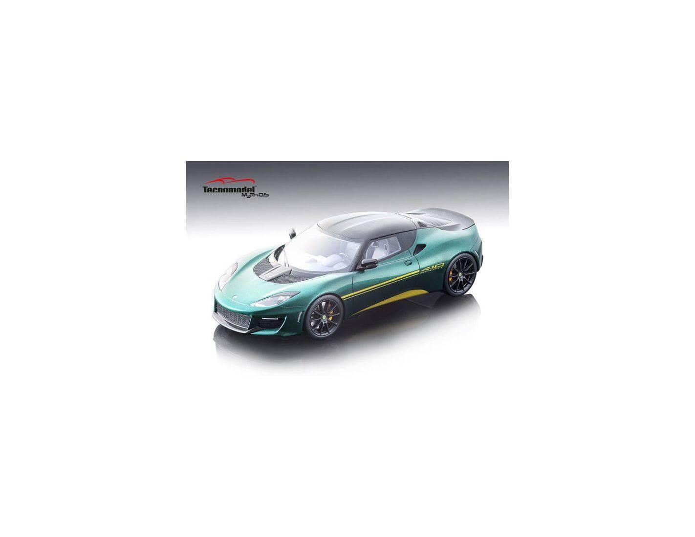 Tecnomodel TMD18111C LOTUS EVORA 410 2017 METALLIC GREEN 1:18 Modellino