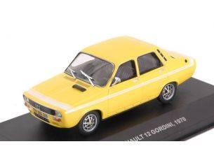 Solido SL4303300 RENAULT 12 GORDINI 1970 YELLOW 1:43 Modellino