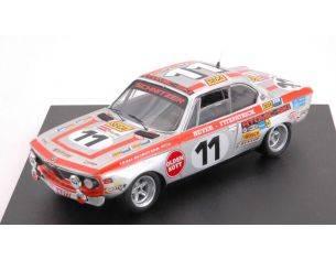 Trofeu TF2702 BMW 2800 CS N.11 DNF 24h SPA 1972 FITZPATRICK-HEYER 1:43 Modellino