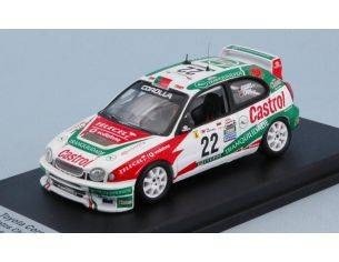 Trofeu TFRRAL71 TOYOTA COROLLA N.22 DNF RALLY OF PORTUGAL 2001 MATOS CHAVES-PAIVA 1:43 Modellino