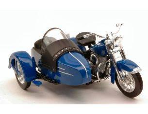 Maisto MI03175 HARLEY DAVIDSON 1952 FL HYDRA GLIDE C/SIDECAR 1:18 Modellino