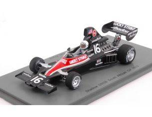 Spark Model S3838 SHADOW DN5B T.PRYCE 1976 N.16 7th SOUTH AFRICAN GP 1:43 Modellino