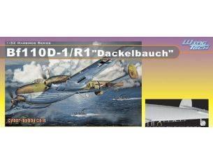 Dragon D3207 BF 110D - 1/R1 DACKELBAUCH KIT 1:32 Modellino