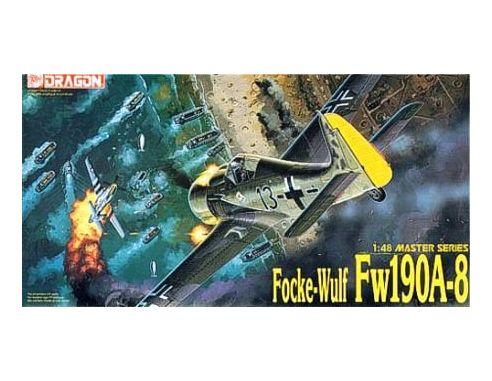 Dragon D5502 FOCKE-WULF FW190 A-8 KIT 1:48 Modellino