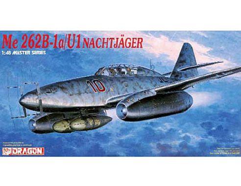 Dragon D5519 ME262B-1A/U-1 NACHTJAGER KIT 1:48 Modellino