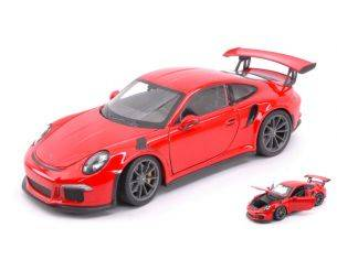Welly WE24080OR PORSCHE 911 (991) GT3 RS ORANGE 1:24 Modellino