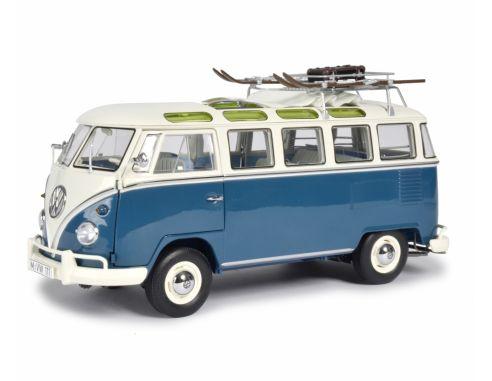 Schuco SH0376 VW T1 SAMBA WINTERSPORT 1:18 Modellino
