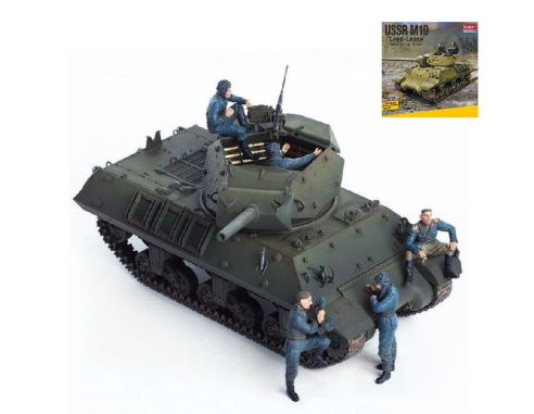 Accademy ACD13521 USSR M10 LEND LEASE KIT 1:35 Modellino
