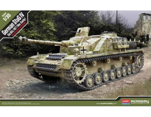 Accademy ACD13522 STUG IV SD.KFZ.167 EARLY KIT 1:35 Modellino