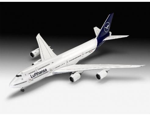 Revell RV03891 BOEING 747-8 LUFTHANSA NEW LIVERY KIT 1:144 Modellino