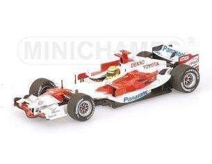 Minichamps PM400060007 TOYOTA R.SCHUMACHER 2006 1:43 Modellino