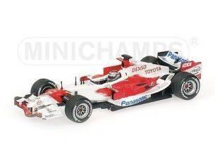 Minichamps PM400060008 TOYOTA J.TRULLI 2006 1:43 Modellino