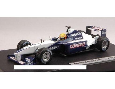 Hot Wheels HW50211 WILLIAMS FW23 N.5 RALF SCHUMACHER 2001 1:43 Scatola rovinata
