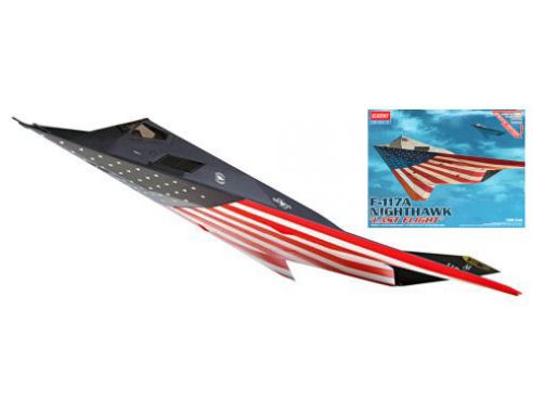 ACADEMY ACD12219 F-117A NIGHTHAWK KIT 1:48 Modellino
