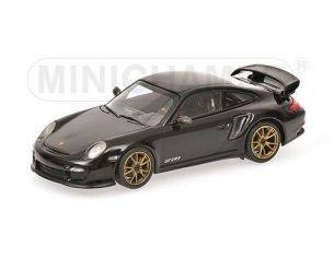 Minichamps PM400069402 PORSCHE 911 GT2 RS 2010 BLACK 1:43 Modellino
