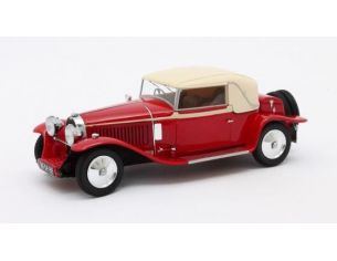 MATRIX SCALE MODELS MX40205-032 BUGATTI TYPE 46 FAUX CABRIOLET VETH & ZOON 1930 RED/BEIGE 1:43 Modellino