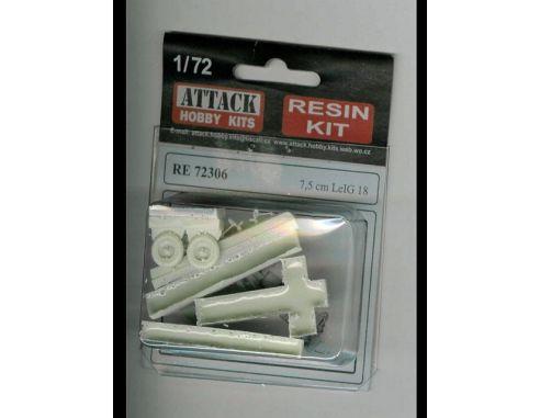 ATTACK HOBBY KITS 72306 - LeIG 7,5 cm in Resina 1:72 Modellismo