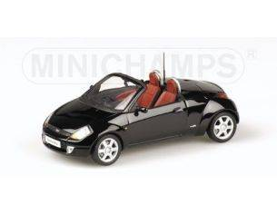 Minichamps PM400086431 FORD STREET KA 2003 OPEN BLACK 1:43 Modellino