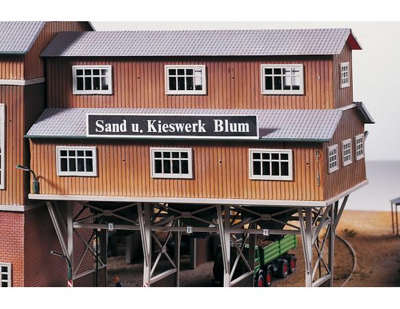 Piko 61123 Ponte di carico per impianti di sabbia 1:87 H0 Kit SCATOLA ROVINATA