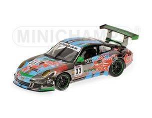 Minichamps PM400097933 PORSCHE 911 GT3 CUP N.33 2009 1:43 Modellino