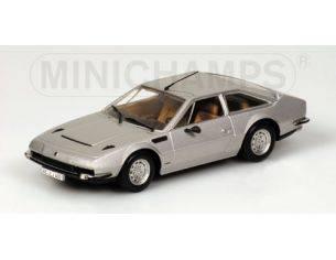 Minichamps PM400103400 LAMBORGHINI JARAMA 1974 SILVER 1:43 Modellino